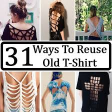 Upcycle Old Tshirts - 31 ways to reuse old t shirt gilscosmo com shopping made easy