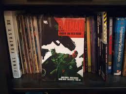 Batman Bookcase Batman Under The Red Hood Comic Books And Graphic Novels