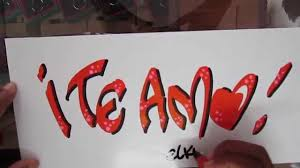 imagenes bonitas de te amo para dibujar letra timoteo te amo caligrafia youtube
