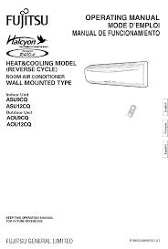 fujitsu minisplit wireing diagram fujitsu split system