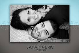 personalized wedding invitations wedding cards with grayscale photo and eric