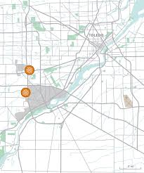Toledo Map Bridgeton Holdings Toledo