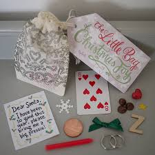 the little bag of christmas joy bag stocking fillers and