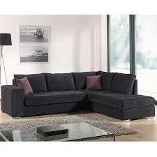 choix canapé canapé d angle noir en tissu sofamobili
