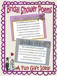 bridal shower gift poems 25 best bridal shower poems ideas on wedding gift