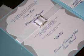 silver wedding invitations blue and silver wedding invitations plumegiant