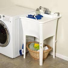 Laundry Room Tub Sink by Amazon Com Zenith Lt2005w Ergotub Full Featured Freestanding