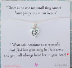infant loss gift miscarriage necklace infant loss jewelry sympathy gift loss