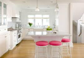 pink kitchen ideas pops of pink in every room yes