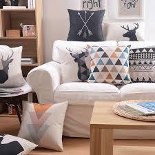 canapé pas cher livraison gratuite pas cher livraison gratuite style nordique coussins décor à la