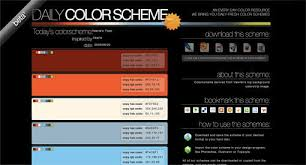 Color Scheme by 25 Awesome Tools For Choosing A Website Color Scheme Top Digital