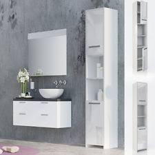 armadietto da bagno arredi mobili a colonna per il bagno ebay