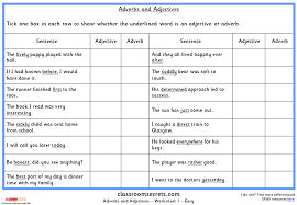adverbs and adjectives ks2 spag test practice classroom secrets