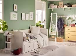Schlafzimmer Ideen F Kleine Zimmer Ein Kleines Zimmer U A Eingerichtet Mit Hemnes Tagesbett Mit 3