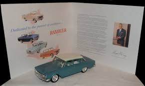rambler car push button transmission miniature curbside classic 1962 rambler classic promo u2013 dedicated