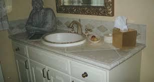 bathroom vanity tile ideas tiled bathroom vanity tops 3