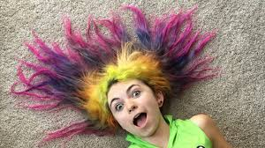 girl hair rainbow girl hair styles 8 years of dyed hair