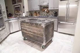 rolling kitchen island exceptional barn wood island images 5 speckled black rolling