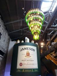 Whiskey Bottle Chandelier Irish Beer And Other Alcoholic Beverages The Occasional Traveller