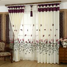 Purple Butterfly Curtains 16 Marvelous Curtains That Spell Luxury In Living Room