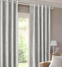 Eyelet Curtains Balmoral Silver Ready Made Eyelet Curtains Harry Corry Limited