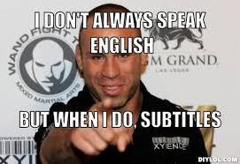 Stay Thirsty My Friends Meme - hilarious mma photo meme of the day i don t always but when i