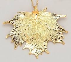 dipped in gold 24k gold dipped sugar maple leaf with gold plated