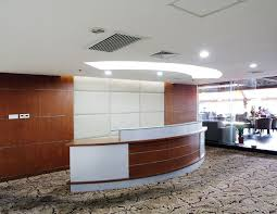 Circular Reception Desk China Manufacturer Modern Large Reception Counter Hot Sale Counter