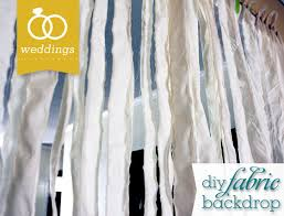 Wedding Backdrop Banner Diy Fabric Wedding Banner Backdrop Sarah Hearts