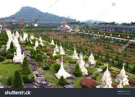 Nong Nooch Tropical Botanical Garden by Nongnooch Tropical Botanical Garden Pattaya Thailand Stock Photo