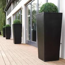 Planters And Pots Cadix Tall Tapered Planters 2 Colours And 3 Sizes Online