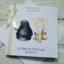 Congratulations On Your Wedding Day Handmade Congratulations On Your Wedding Day Card Personalised Ebay