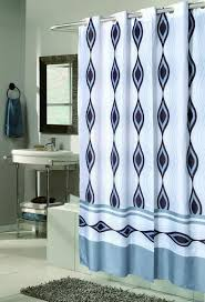 No Liner Shower Curtain Carnation Home Fashions Inc Ez On Fabric Shower Curtains No