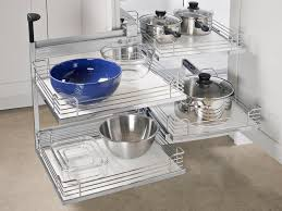 Kitchen Appliance Storage Ideas Kitchen 34 Corner Cabinet Storage Modern Feature For Kitchen