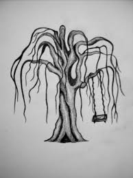weeping willow tree with swing by intoxicatingeyes on deviantart