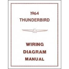 ford thunderbird wiring diagram manual 21 pages 1964 macs