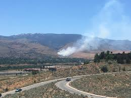 Wildfire Near Reno by Hunter Creek Fire In West Reno 100 Percent Contained After Burning