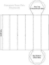 hexagontubeboxtemplate downloadable templates for boxes envelopes