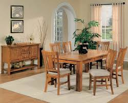 casual dining room sets light oak finish casual dining room table w optional chairs