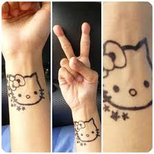 164 best hello kitty tattoos images on pinterest drawing a