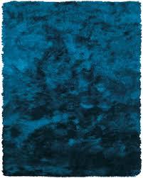 feizy rugs area rug feizy indochine shag rug teal faux silk