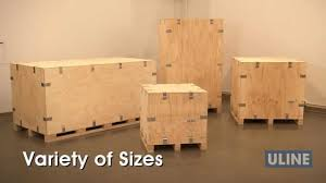 heavy duty wood crates youtube