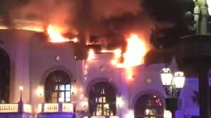 bellagio buffet thanksgiving fire breaks out at bellagio hotel in las vegas duluth news tribune