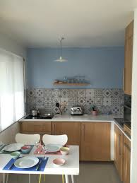 credence cuisine leroy merlin crédence de la cuisine leroy merlin gadsby bleu et gris cuisine