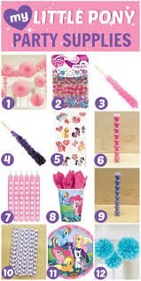 My Little Pony Party Decorations My Little Pony Party Ideas 7 Must Haves Catch My Party