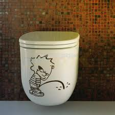 peeing boy toilet stickers vinyl wall art home decals bathroom peeing boy toilet stickers vinyl wall art home decals bathroom decor diy removable adesivos de paredes posters wallpapers in wall stickers from home