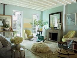 Mint And Coral Home Decor by Living Room Decorating With Sunny Yellow Paint Colors Color