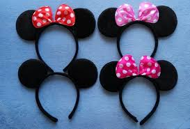 mickey mouse party decorations aliexpress buy minnie mickey mouse ears headband