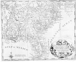 Southeastern Usa Map by The Usgenweb Archives Digital Map Library Georgia Maps Index