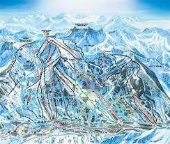 Colorado Ski Map by Snowbird Colorado Usa Ski Trail Map Elevation Terrain Opening Dates